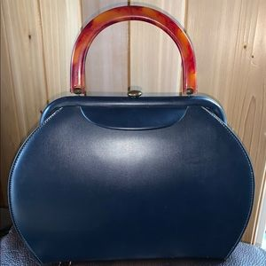 Rare Bakelite Handle Handbag
